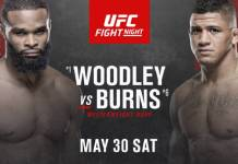 UFC Fight Night 176 Woodley vs Burns