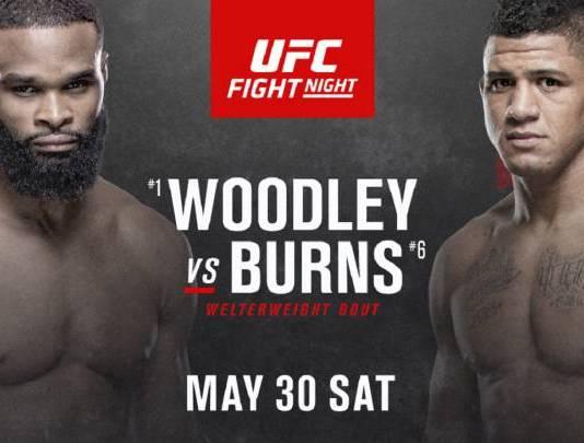 UFC Fight Night 176 Woodley vs Burns