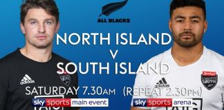 Rugby Union North vs South