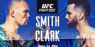 UFC on ESPN Smith vs Clark