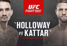 UFC on ABC Holloway vs Kattar