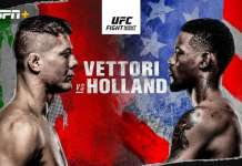 UFC on ABC Vettori vs Holland