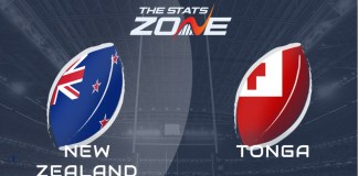 Nueva Zelanda vs. Tonga