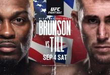 UFC Brunson vs Till
