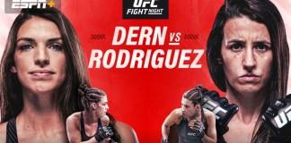 UFC Fight Night Dern vs Rodriguez