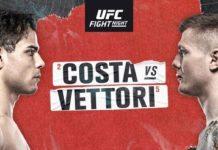 UFC Fight Night - Costa vs Vettori