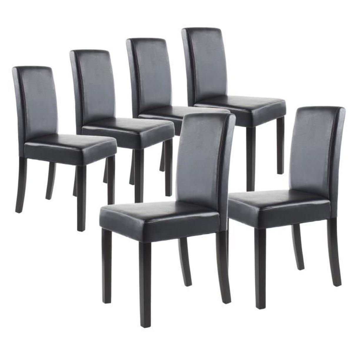 chaise but promo clara lot de 6 chaises