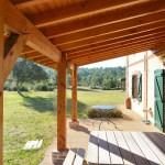 Pergola Pour Terrasse Terrasses Et Pergolas Construction De Maisons En Bois Idees Conception Jardin Idees Conception Jardin
