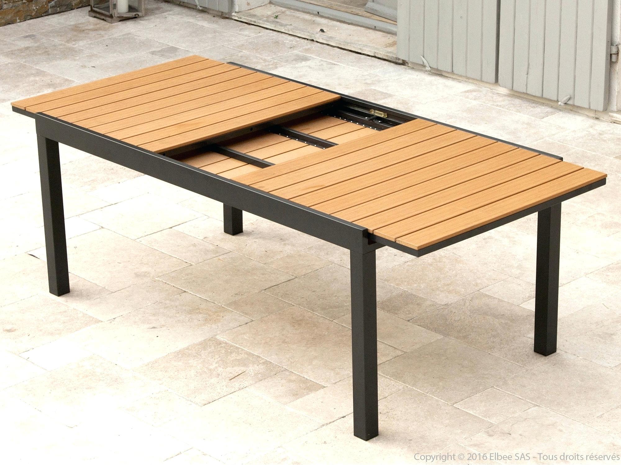 table exterieur resine table de jardin
