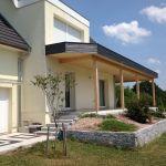 Terrasse Couverte Toit Plat Extension Maison Garage En Bois Terrasse En Ossature Bois Idees Conception Jardin Idees Conception Jardin