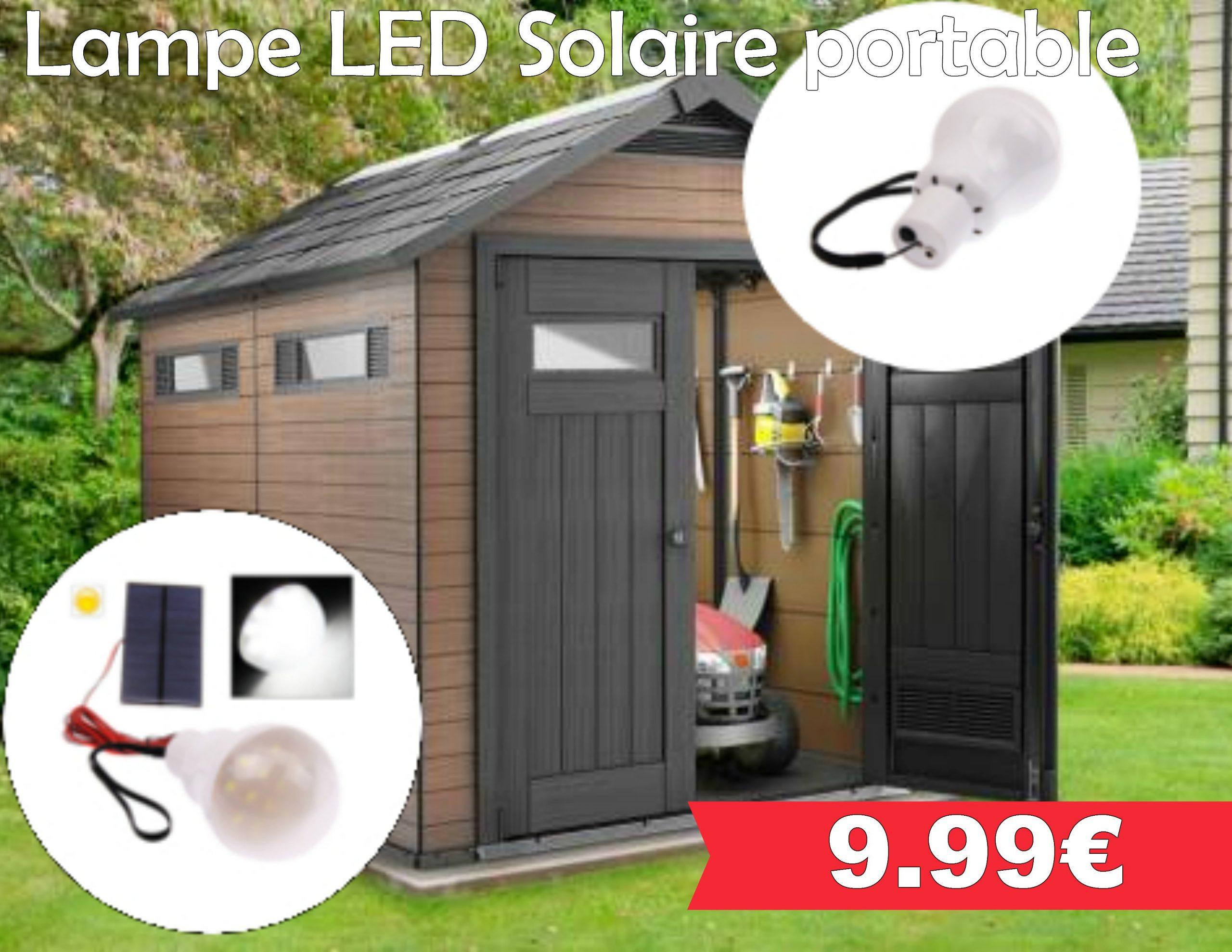 lampe led solaire portable leclerc