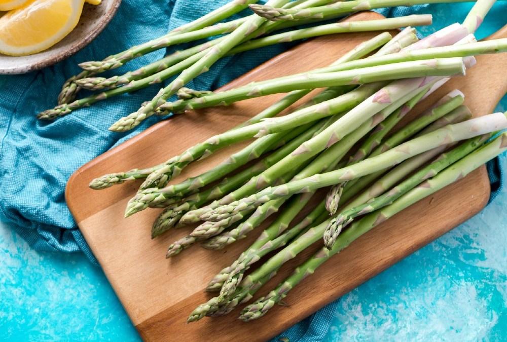 Lemon Garlic Asparagus Sautéed in Ghee: A Springtime Side Dish