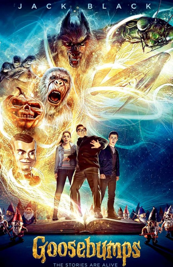 Goosebumps (2015) 720p BluRay Movie Free Download