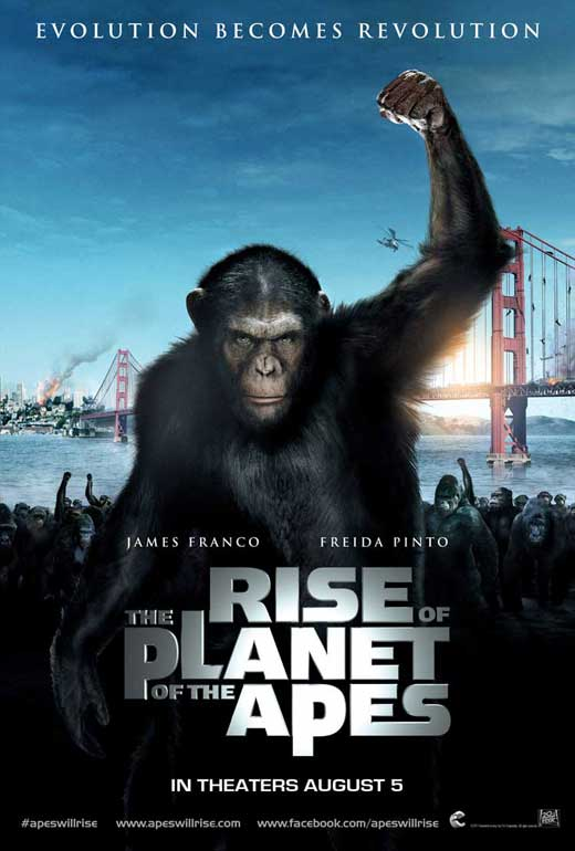 Rise of The Planet of The Apes 2011 Movie Free Download
