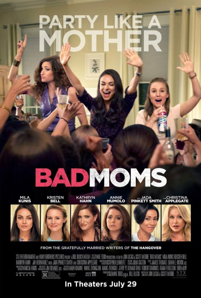 Bad Moms 2016 Movie Watch Online Free