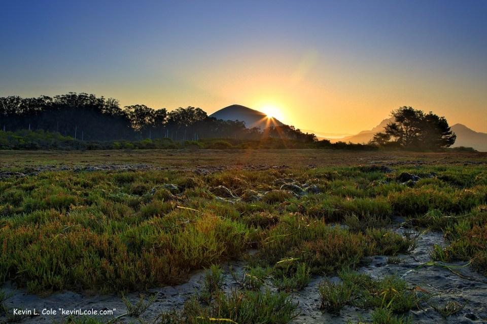 Morro Bay National Estuary at 6:46 A.M. by Kevin L Cole.