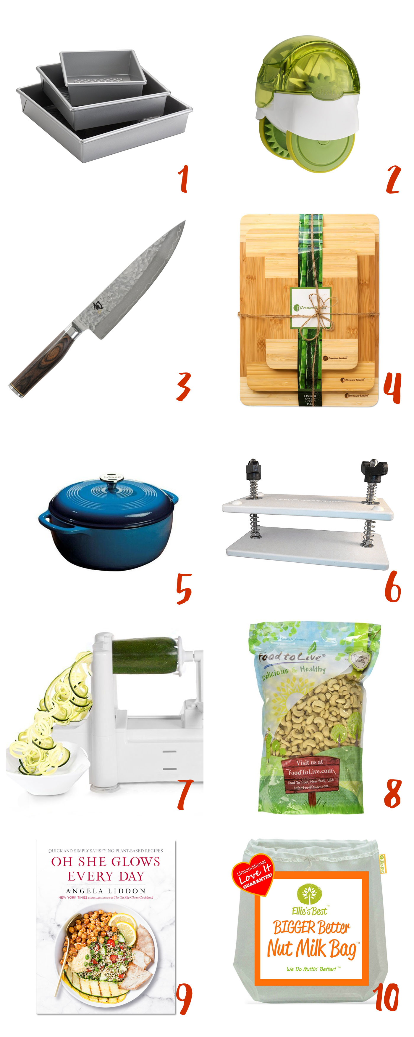 10 Christmas Gifts For Vegan Cooks Full Of Plants