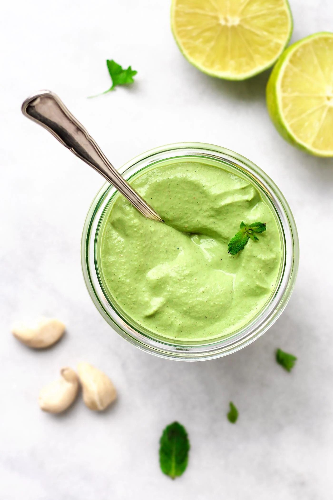 Mint Cashew Green Sauce