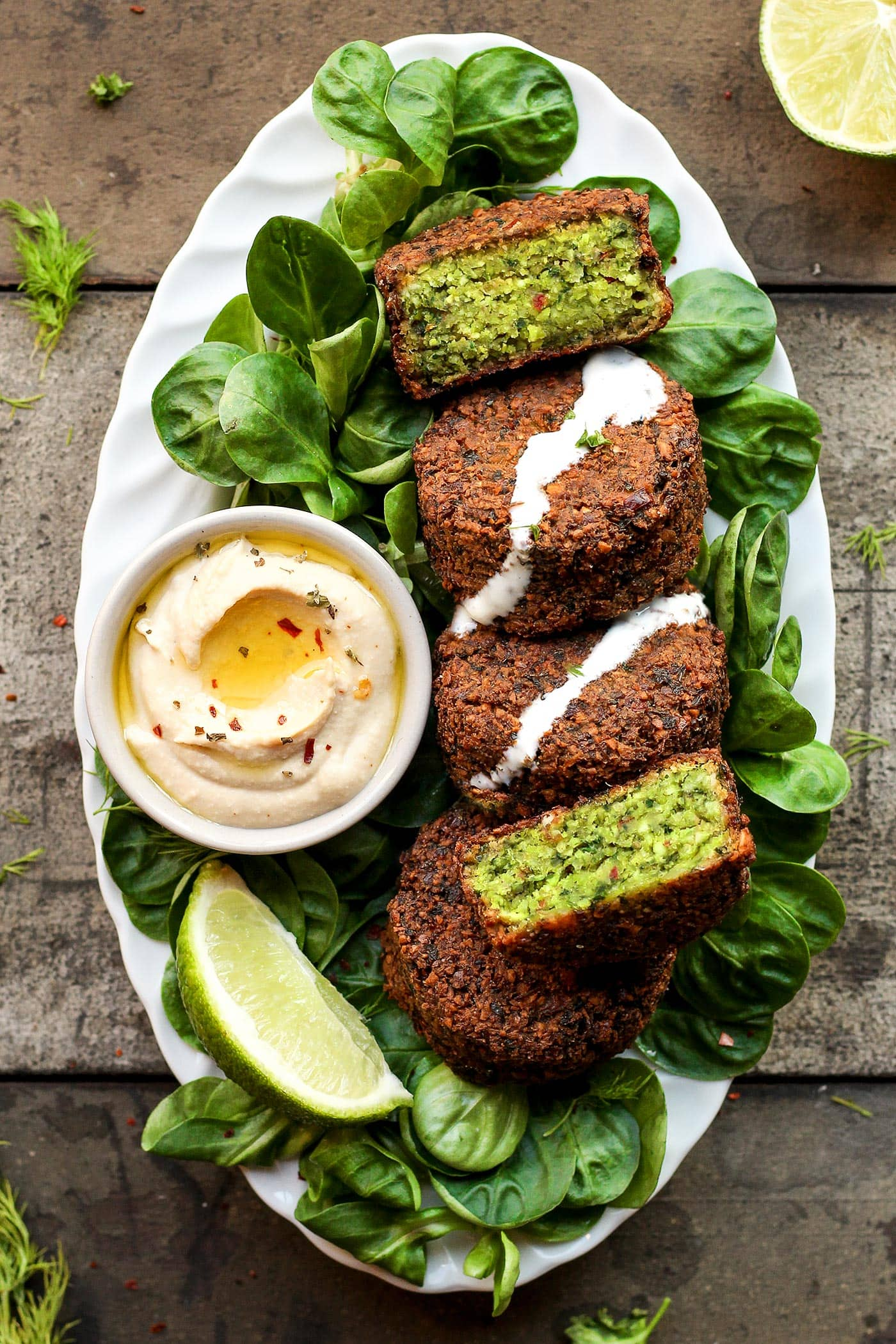 Magical Green Falafels - soyvirgo.com