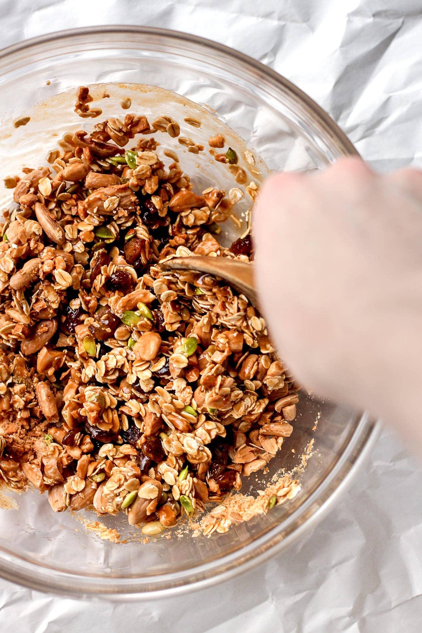 Raisin and Almond Snack Squares