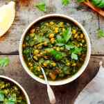 Easy Dal Palak (Vegan)