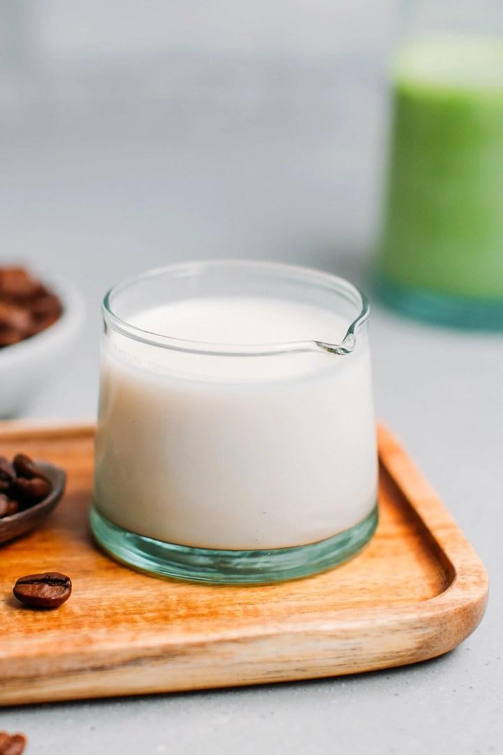 Easy Almond Milk Creamer
