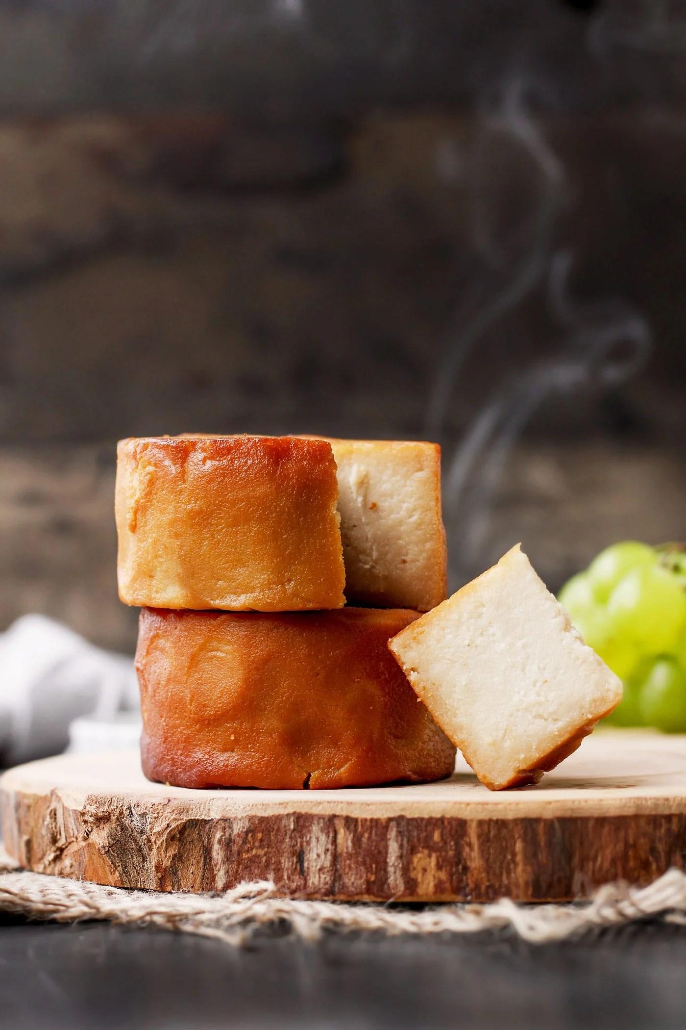 Hickory Smoked Vegan Cheese - Full of Plants