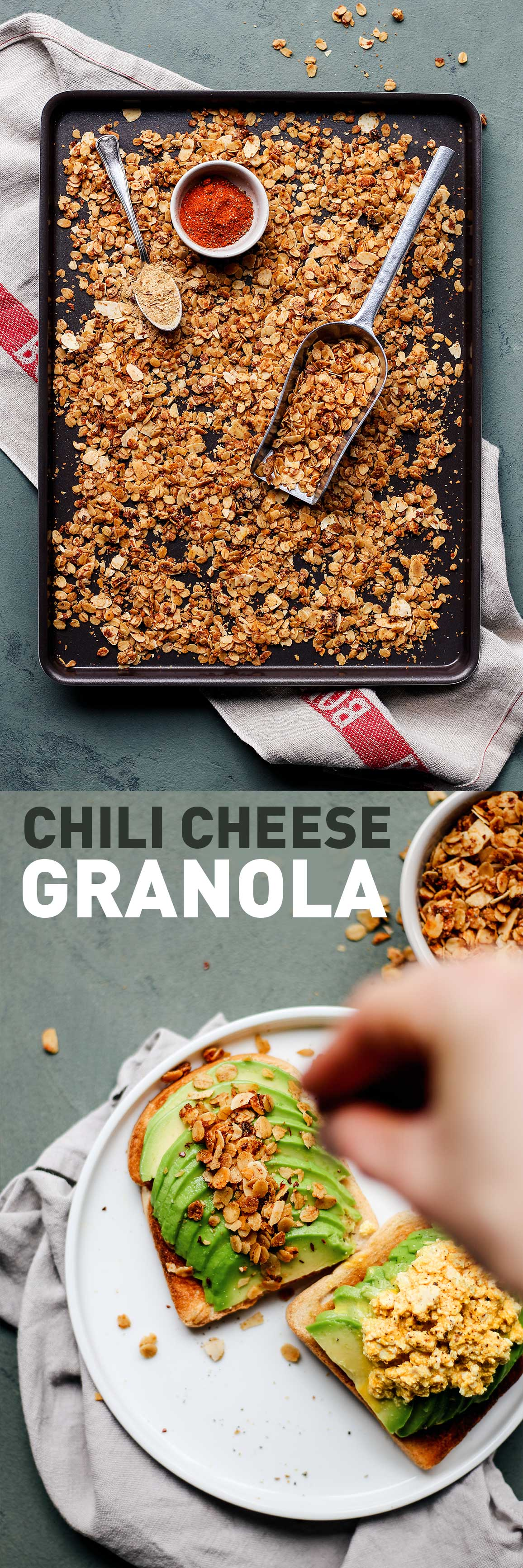Chili Cheese Granola