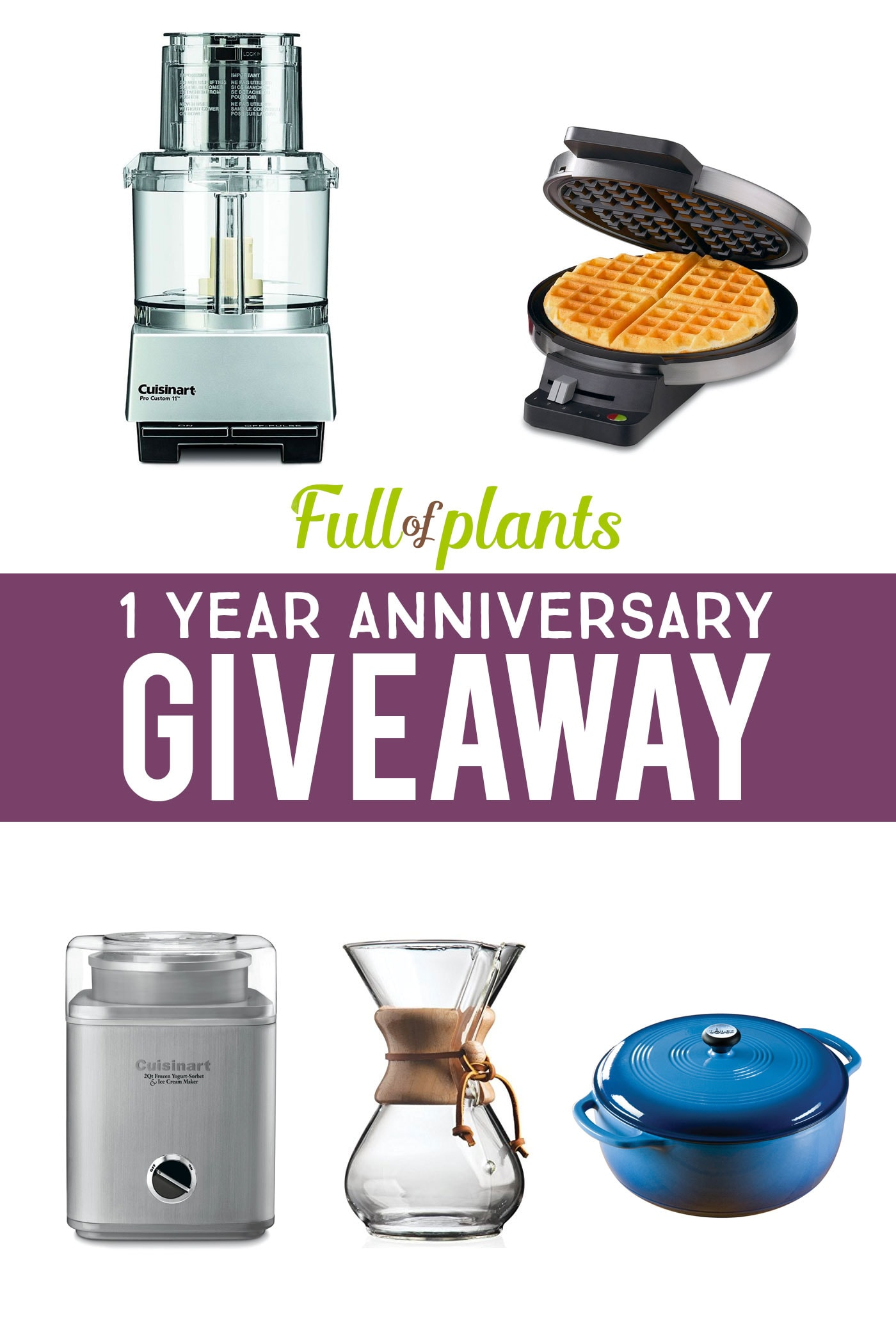 Full of Plants - Anniversary Giveaway
