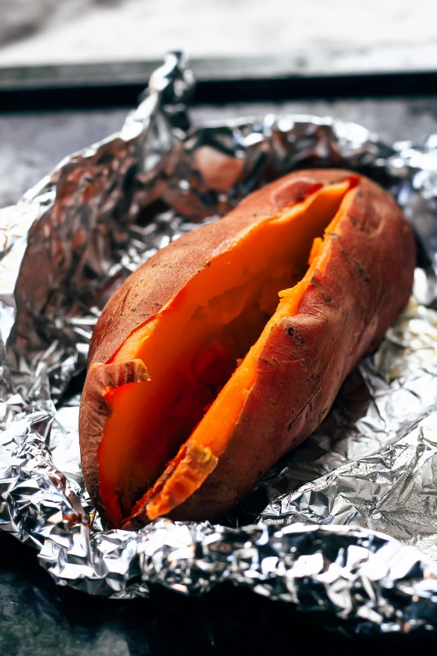 Smoked Roasted Sweet Potato