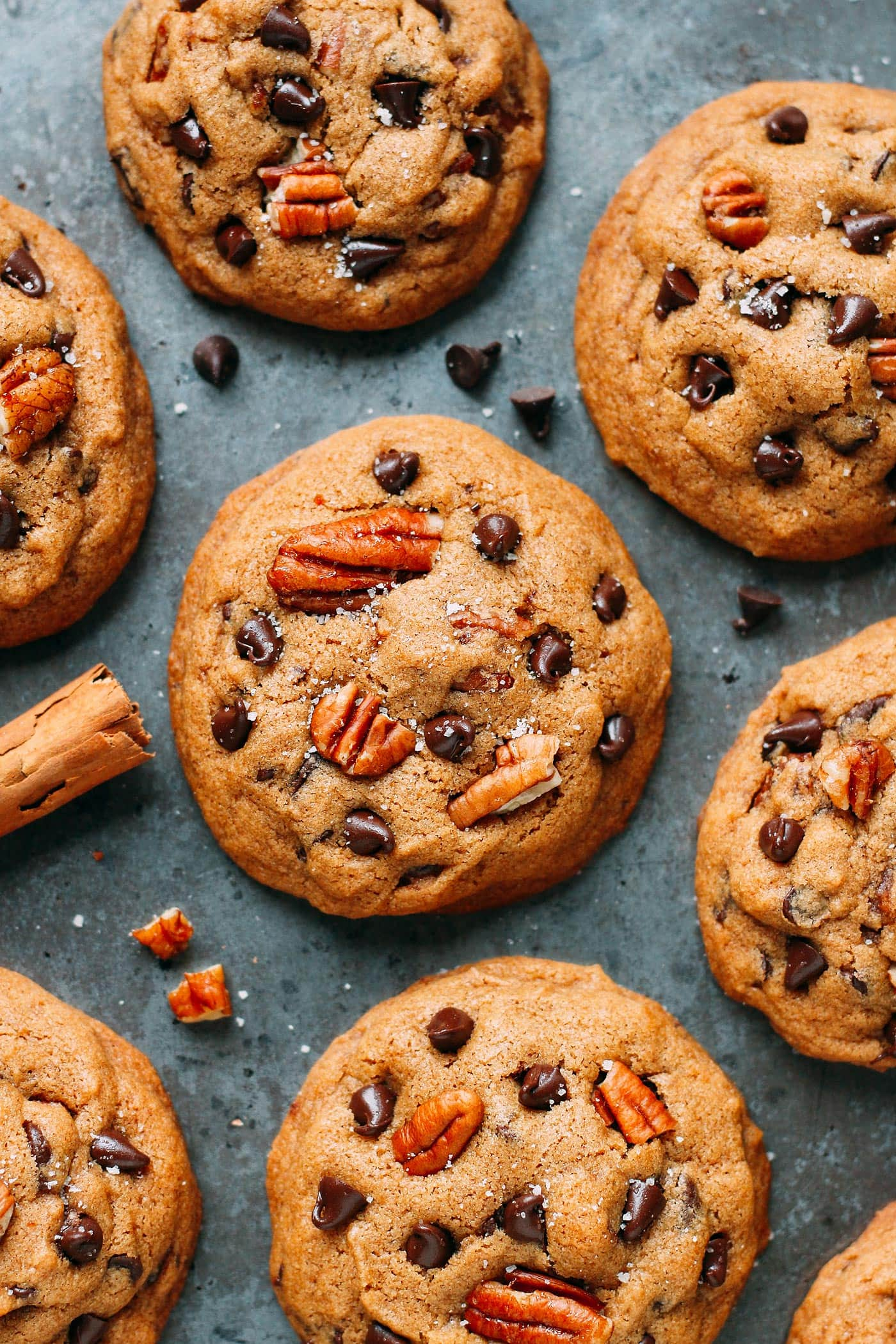Awesome Pecan Chocolate Chip Cookies