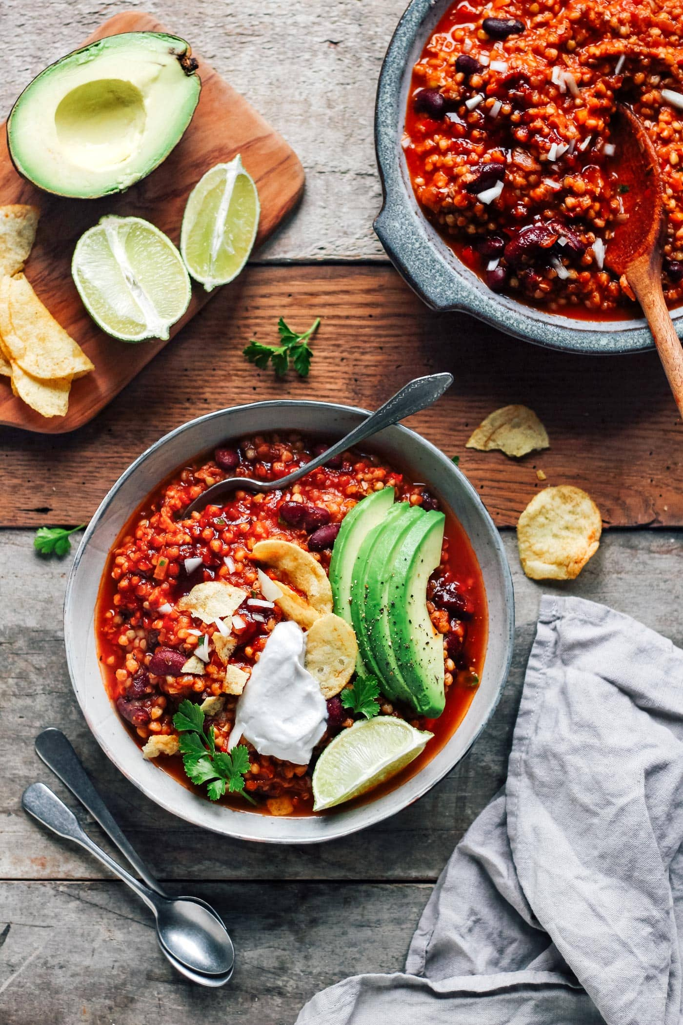 Easy Buckwheat Chili
