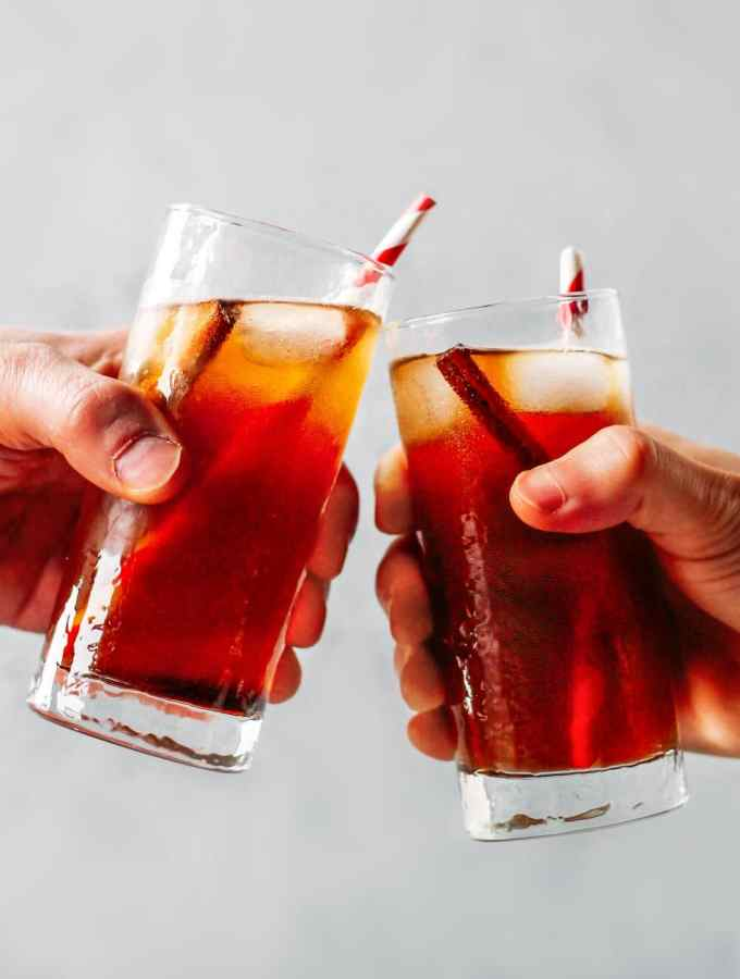 Christmas Spiced Soda