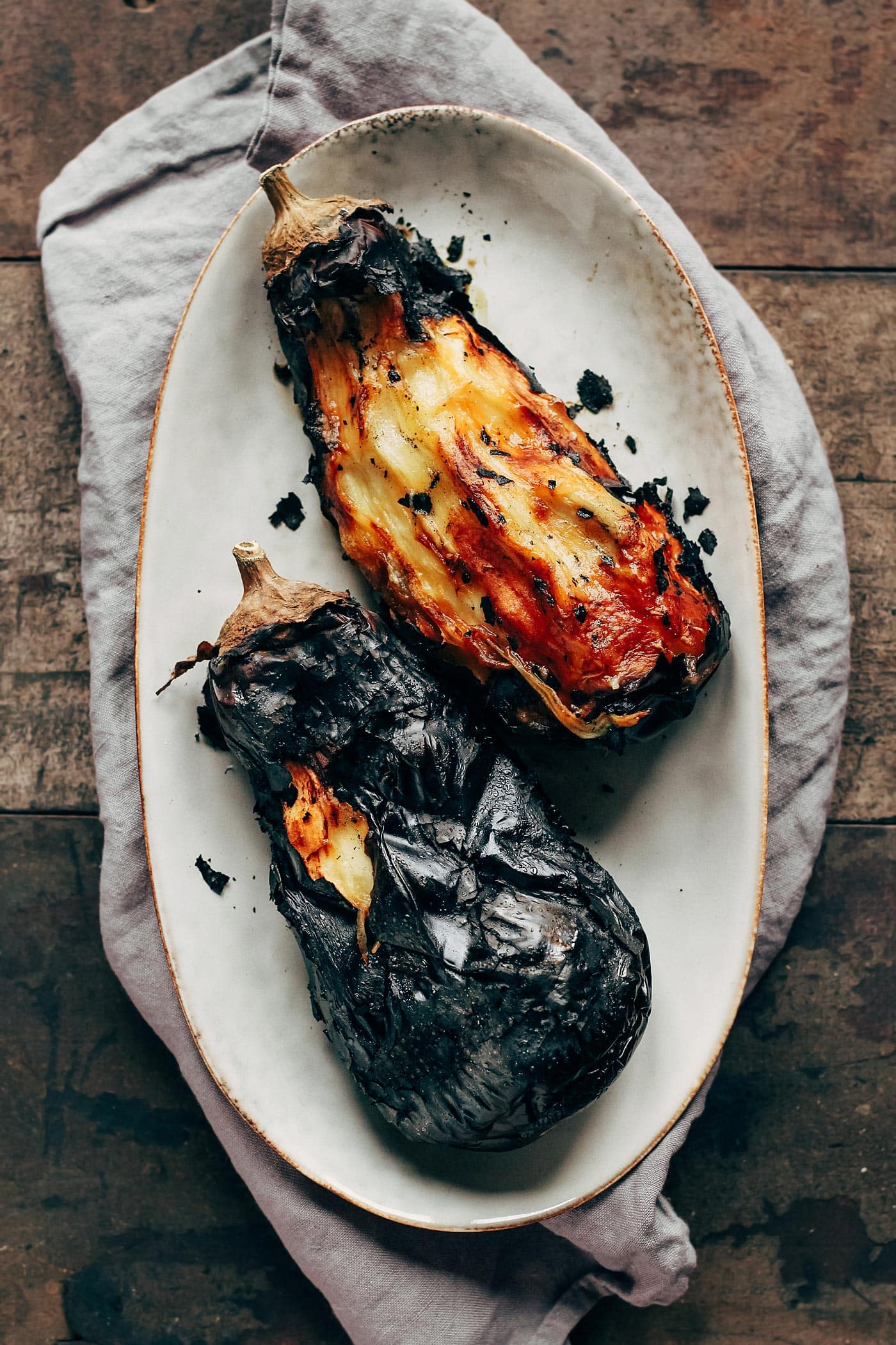 Indian Smoke Shop >> Fire Roasted Eggplant Dal - Full of Plants