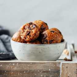 Cookie Dough Mulberry Energy Bites