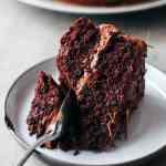 Fudgy Chocolate Layer Cake (Vegan + GF)