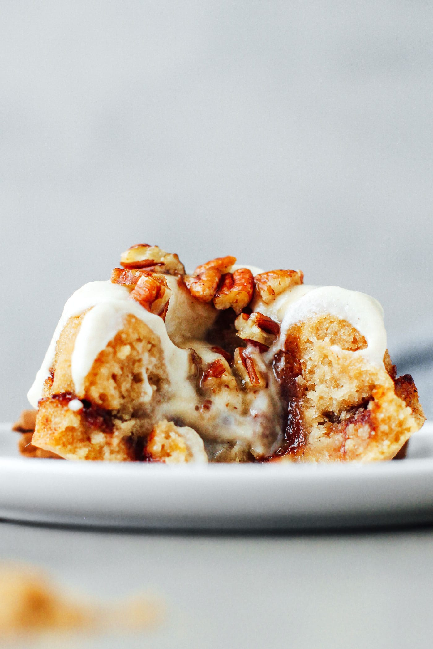 Mini Cinnamon Swirl Bundt Cakes