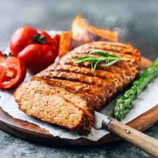 Smoked & Grilled Tempeh