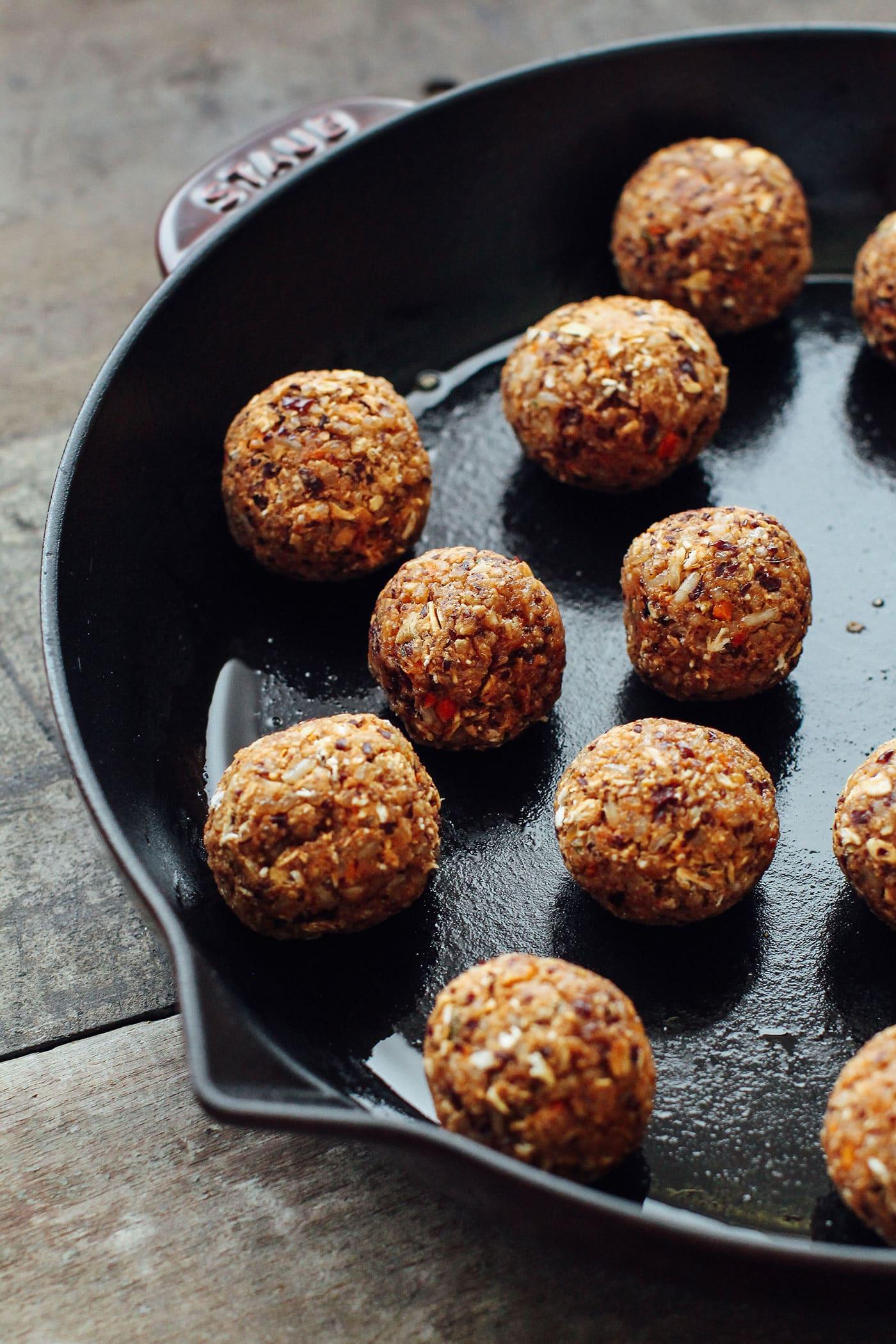 Veggie Balls in Masala Sauce