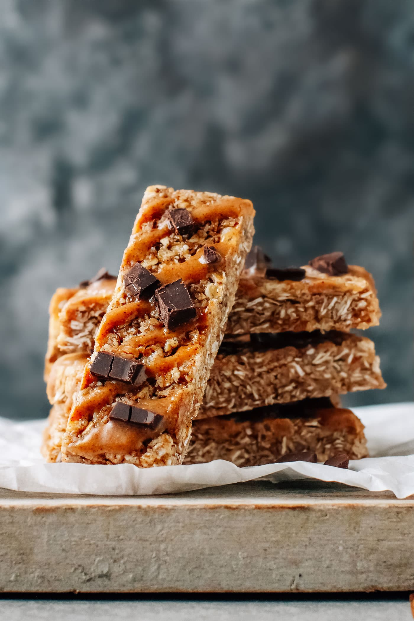 Almond Crisps Drizzled With Chocolate
