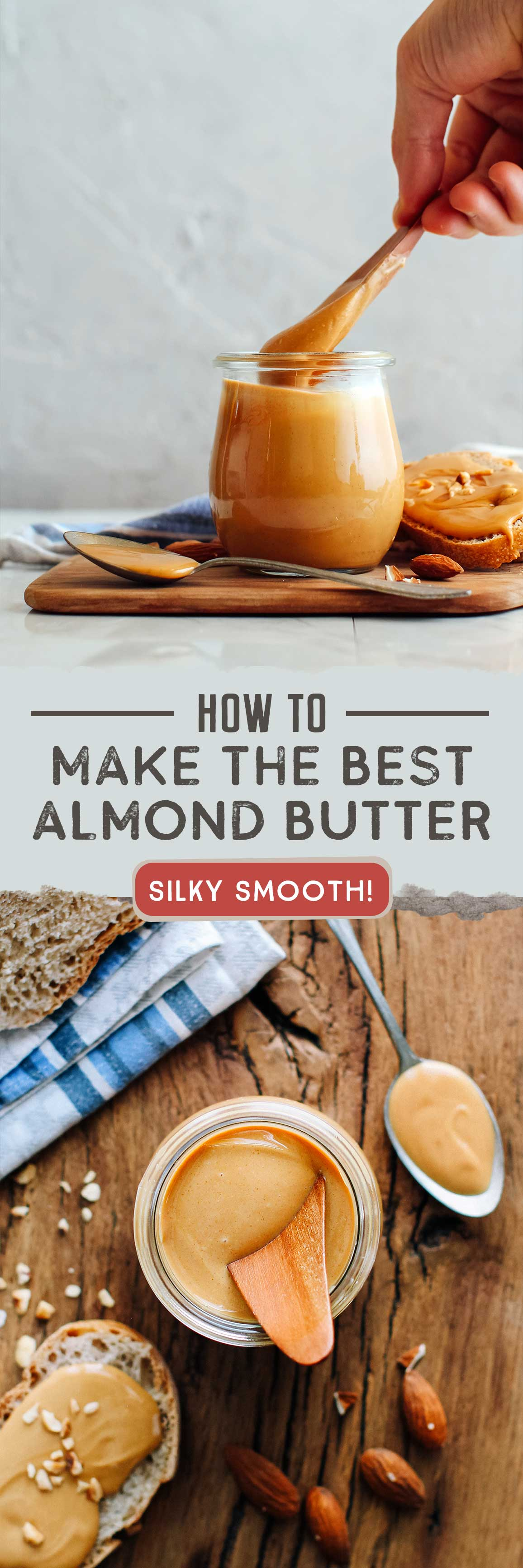 How to Make the Best Almond Butter