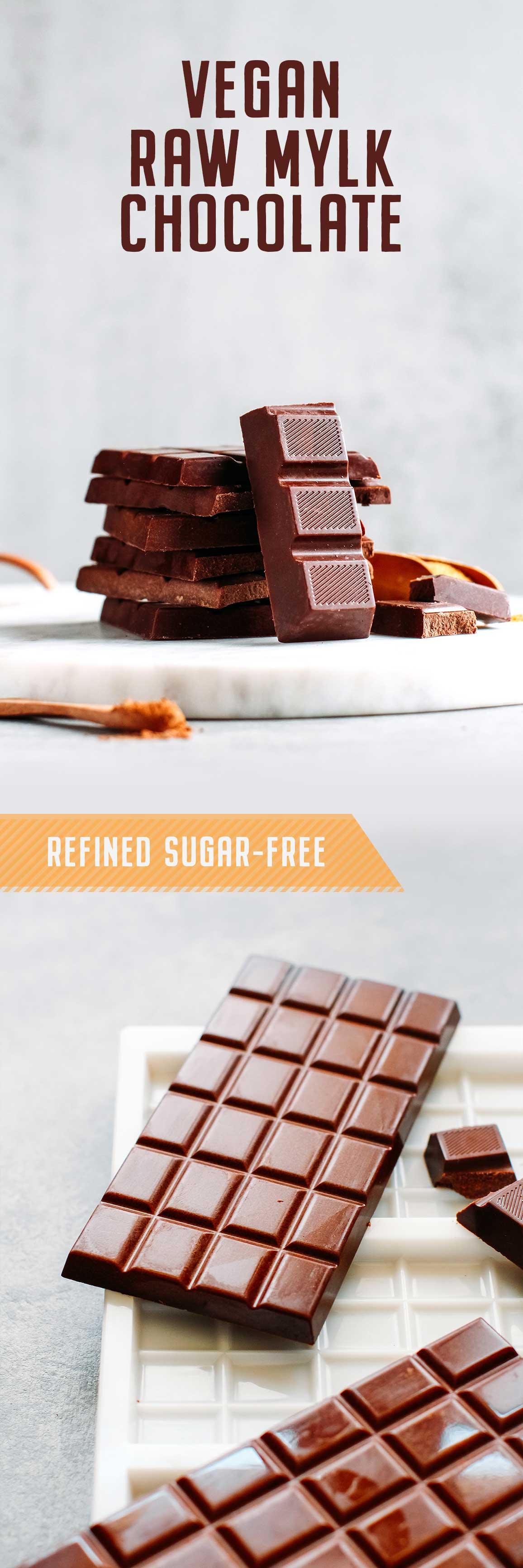 Vegan Raw Mylk Chocolate