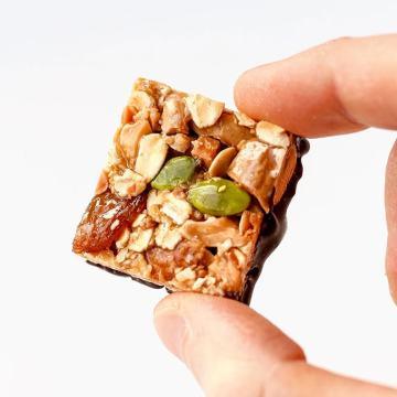 Raisin & Almond Oat Snack Squares