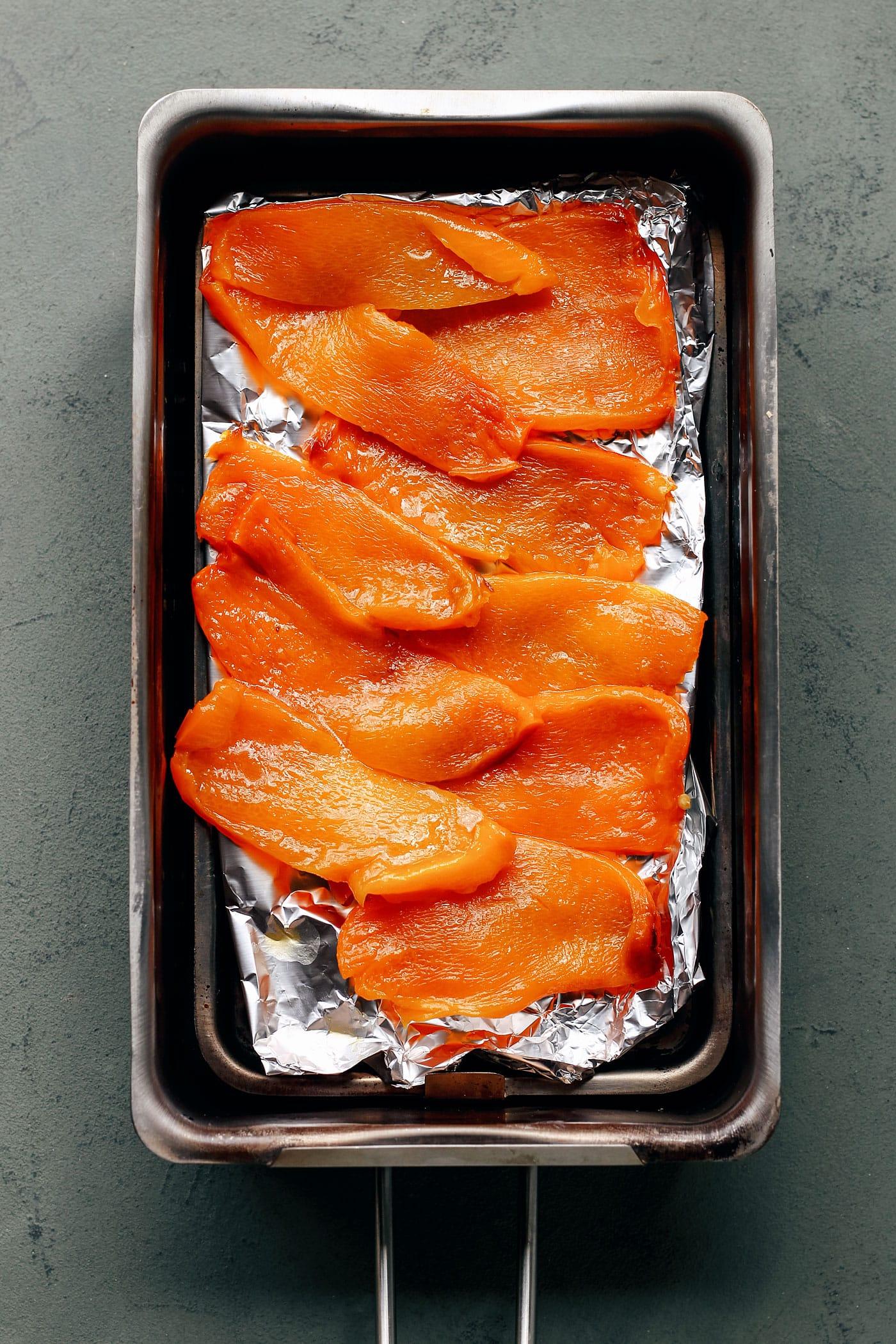 Sushi Bowls with Vegan Smoked Salmon