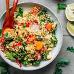Basil & Mint Cauliflower Couscous Salad