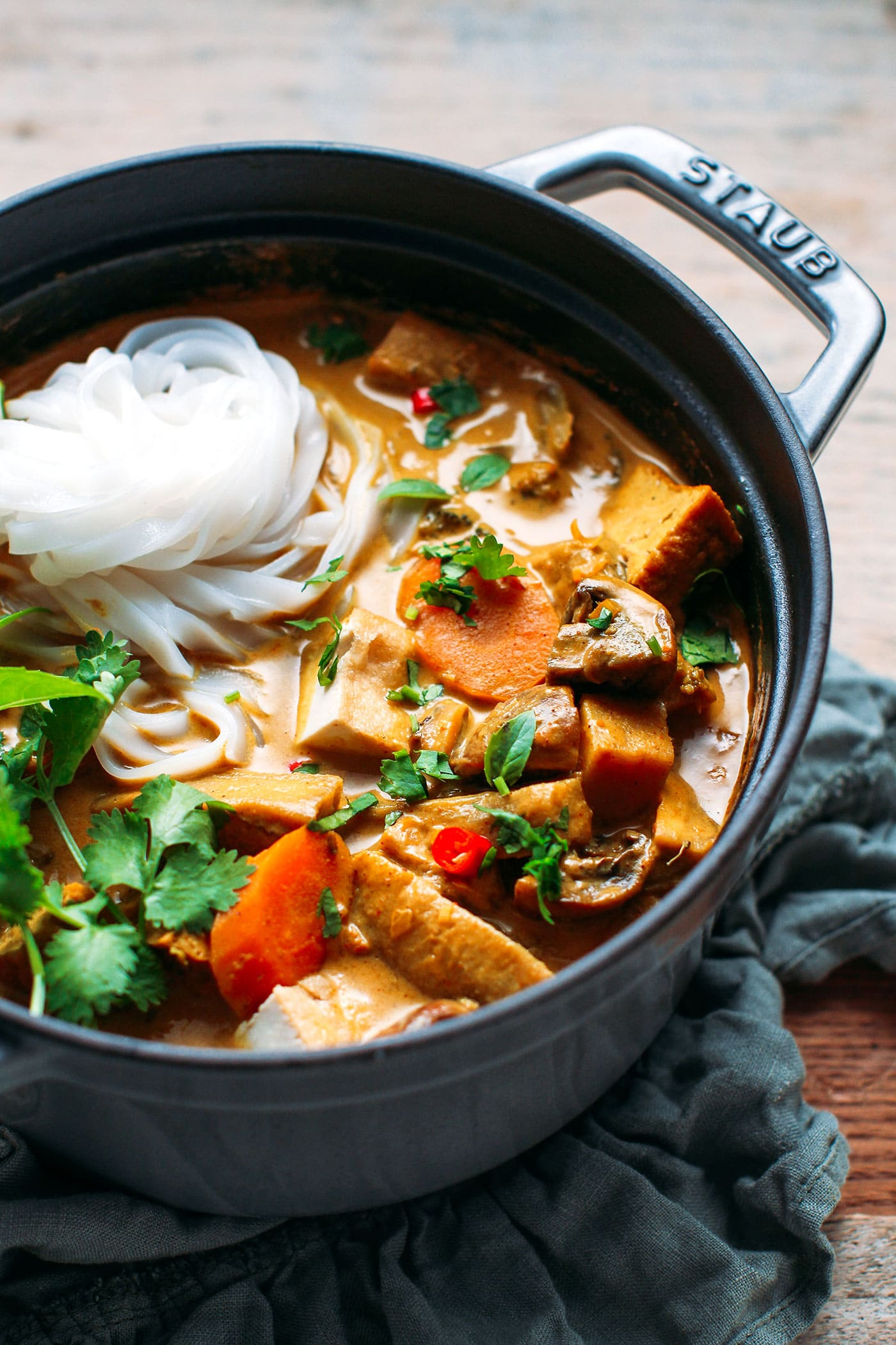 Easy Vegan Vietnamese Curry