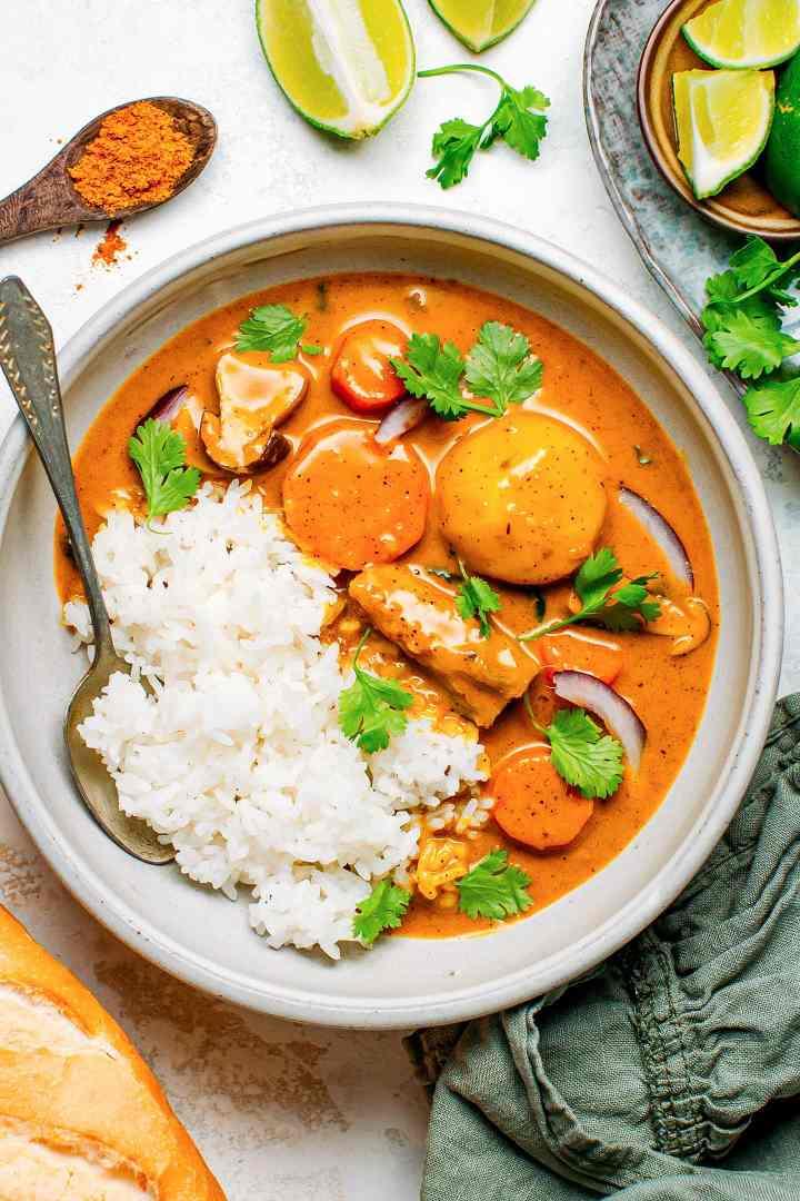 Easy Vegan Vietnamese Curry