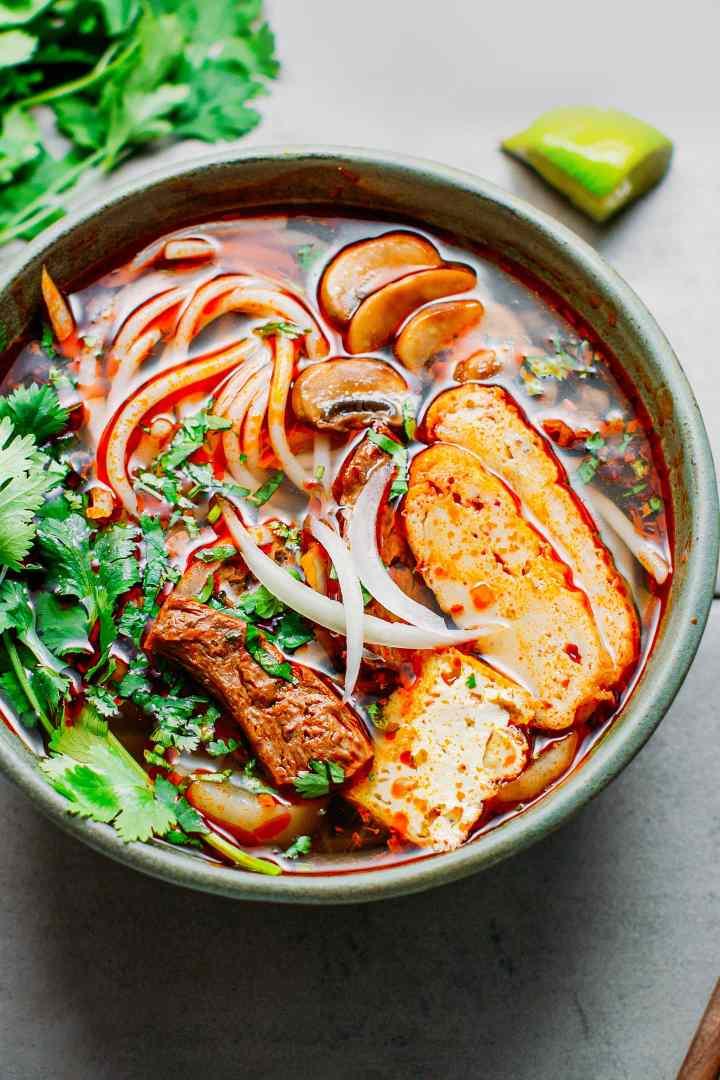 Vegan Bún Bò Huế