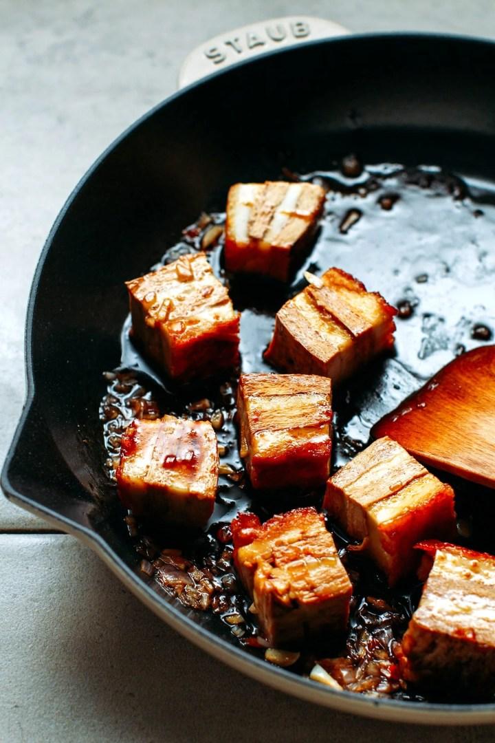 """Braised Vegan Roast """"Pork"""""""