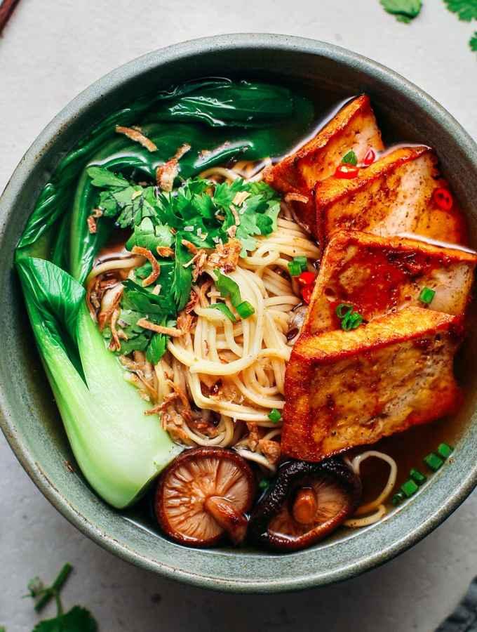 Five-Spice Tofu Noodle Soup